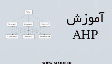 آموزش AHP
